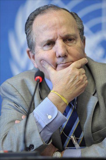 Juan Méndez, relator de la ONU contra la Tortura. Foto: Archivo.