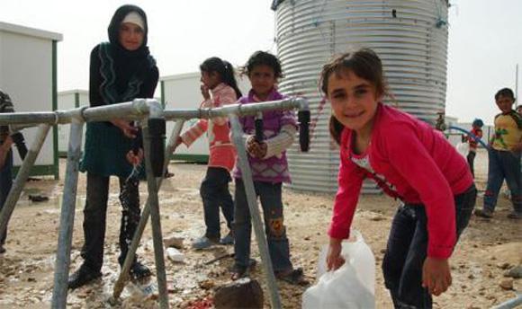 """La lucha por acceder al agua potable podría provocar """"otra"""" guerra en el Medio Oriente."""