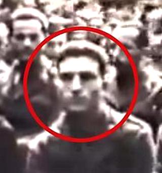 Veterano italiano de la II Guerra Mundial se encuentra en