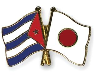banderas Cuba-Japon