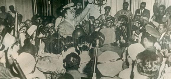 El golpe de Estado del 10 de marzo de 1952, dirigido por Batista, violentó el orden constitucional en Cuba. Autor: Juventud Rebelde