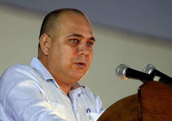 Dr. Roberto Tomás Morales, Ministro de Salud Pública. Foto: Ladyrene Pérez/Cubadebate.