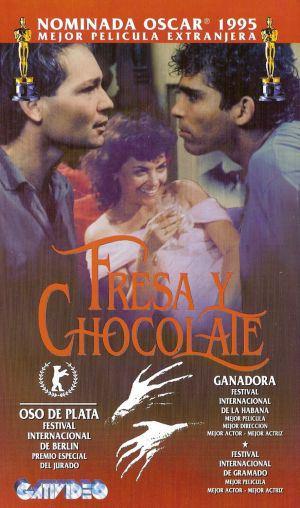 """Résultat de recherche d'images pour """"fresa y chocolate"""""""