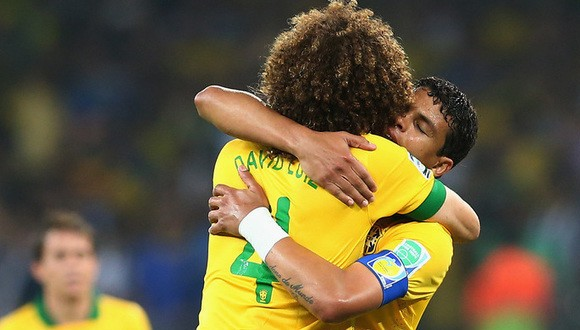 Thiago Silva y David Luiz: los candados de la defensa brasileña
