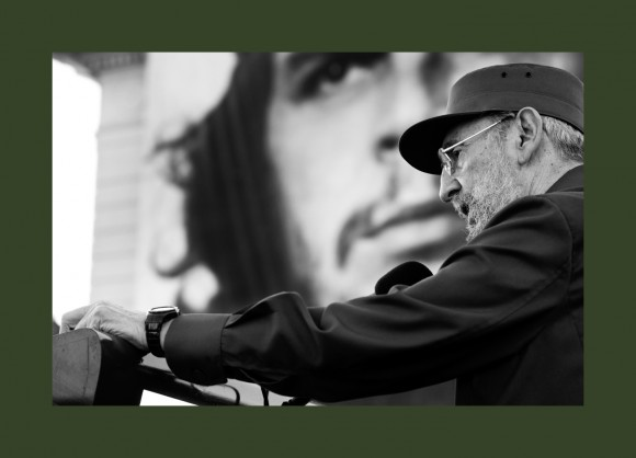 A la luz del Che, 2010. Foto: Roberto Chile.