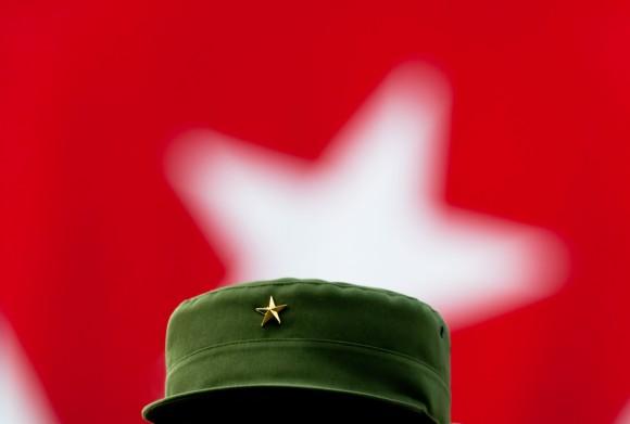 La estrella de Fidel, 2010. Foto: Roberto Chile.