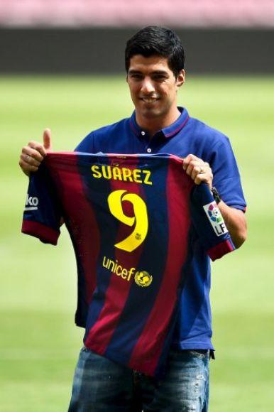 Luis Surez fue presentado oficialmente como jugador del