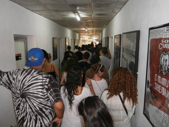 Comienza el nuevo curso escolar en la Escuela Internacional de Cine y Televisión de San Antonio de los Baños. Foto: Alba León