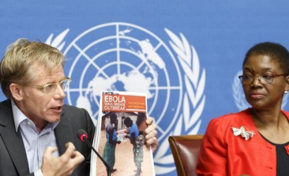 El coordinador de la ONU para la lucha contra el ébola, David Nabarro. Foto: EFE.
