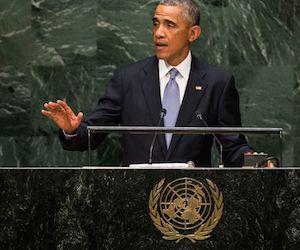 Barack Obama en la ONU.