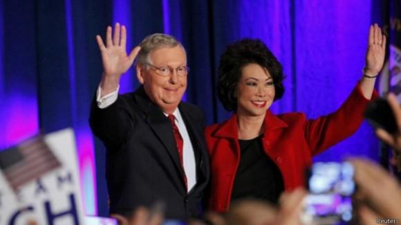 Mitch Mconnell será el líder de la mayoría republicana en el Senado.