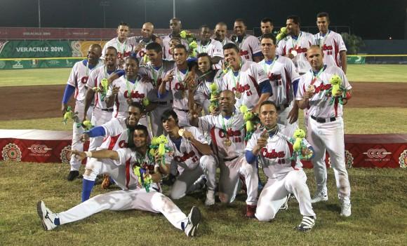 Cuba Campeón de los JCC Veracruz2014 en Béisbol. Foto: Ismael Francisco / Cubadebate