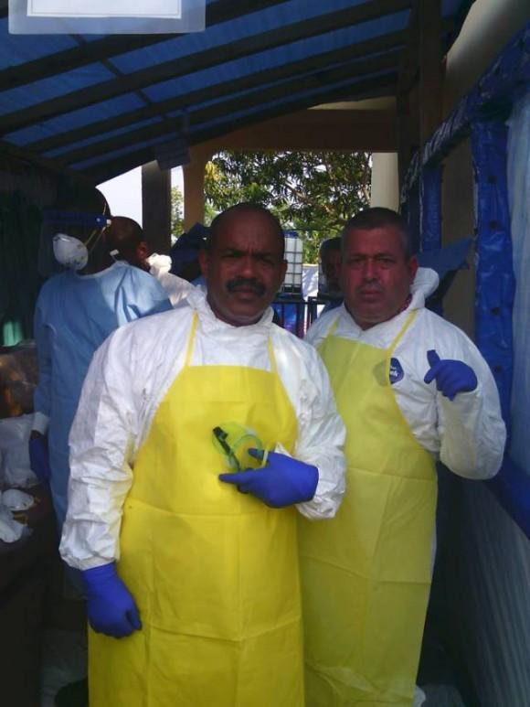guinea-ebola-médicos cubanos