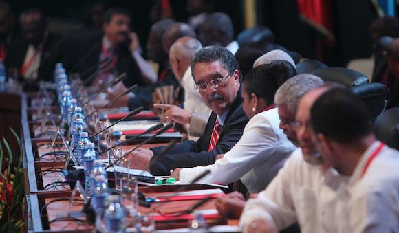 Inauguración de la V Cumbre Caricom-Cuba. Foto: Ismael Francisco/ Cubadebate
