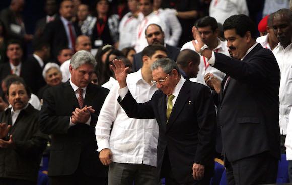 Clausura de la Cumbre ALBA-TCP. Foto: Ismael Francisco/ Cubadebate