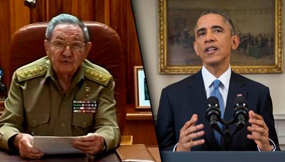 Raúl Castro-Barack Obama