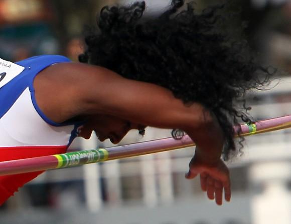 Yarisley Silva se lleva el oro en Veracruz 2014. Foto: Ismael Francisco/ Cubadebate.