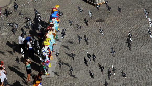 La primera exposición fue en Berlín, en el año 2002. Foto: Ladyrene Pérez / Cubadebate.