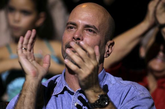 Gerardo Hernández de vuelva a la patria. Foto: Ladyrene Pérez/ Cubadebate.