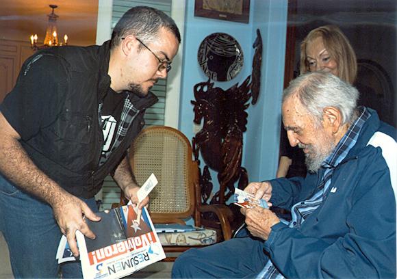 Encuentro de Fidel Castro con Randy Perdomo12