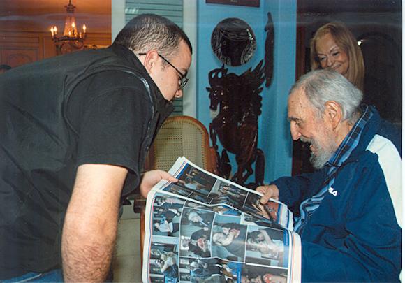 Encuentro de Fidel Castro con Randy Perdomo148