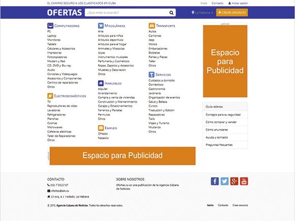 Página web.