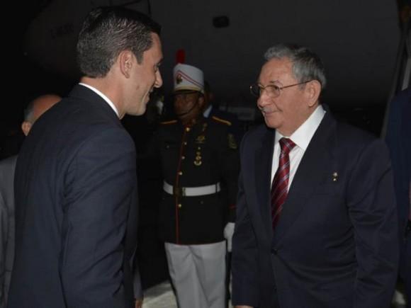 Raúl en Panamá