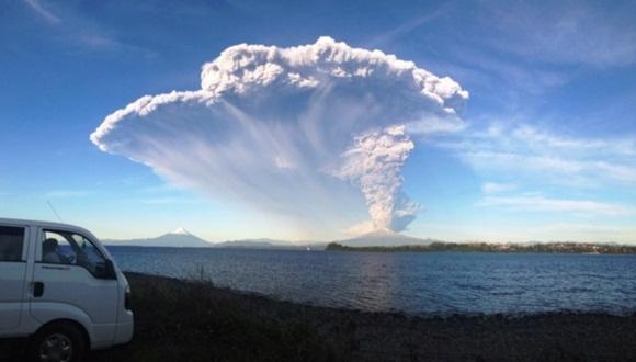 Establecen alerta sanitaria en Chile tras erupcin del