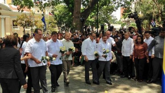 Los antiterroristas fueron reconocidos con la órden Eliécer Otaiza. | Foto: Rolando Segura.