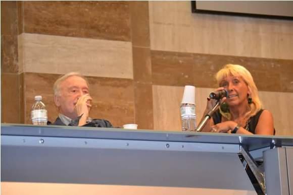 La periodista Geraldina Colotti. Foto: Asociación Nacional de Amistad Italia-Cuba.