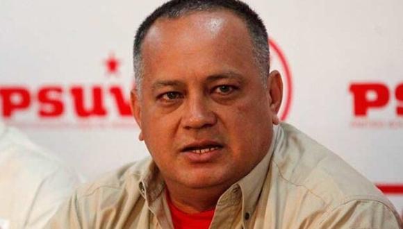 Diosdado Cabello. Foto: Tomada de El Universal.