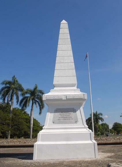La historia en imgenes El Monumento en Dos Ros  Cubadebate