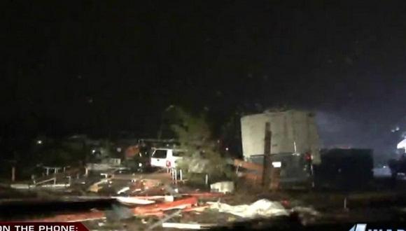 Una veintena de tornados provocan grandes daos en Oklahoma Kansas y Nebraska  Video  Cubadebate