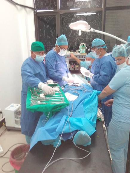 Brigada Medica en Nepal