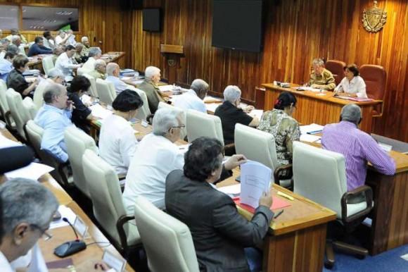 Reunión del Consejo de Ministros. Foto: Granma.