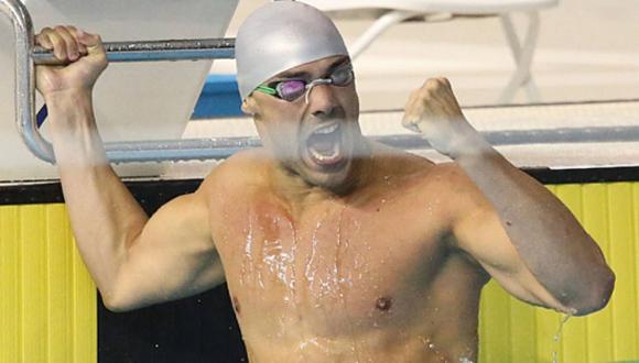 Joao de Lucca ha dominado tres pruebas del estilo libre en la natación.