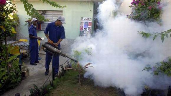 Cuba fumigación Dengue