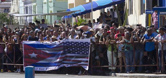 Apertura de la Embajada de Washington en La Habana. Foto: Ismael Francisco/ Cubadebate