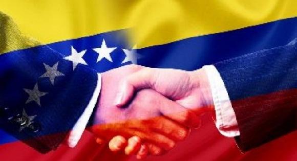 Colombia-Venezuela-banderas