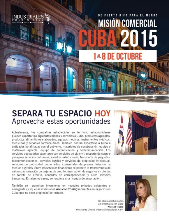 inversiones puerto rico cuba
