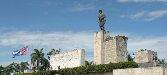 El monumento al Che en Santa Clara. Foto: Archivo.