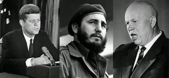 Fidel, Kennedy, Jruschov: Protagonistas esenciales de los sucesos de la crisis de Octubre