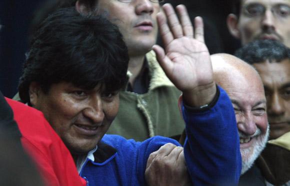 Evo Morales en Marcha de los Pueblos, Mar del Plata Argentina. Foto: Ismael Francisco /Cubadebate.