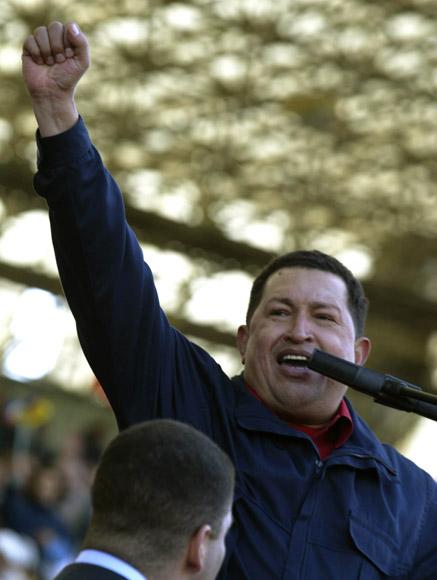 Hugo Chavez  durante el Acto de la CUmbre de los Pueblos en mar del Plata Argentina. Foto: Ismael Francisco/Cubadebate
