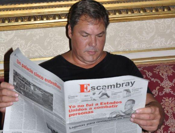 Nacido el 9 de junio de 1963, Labañino reconoce la contribución de los medios cubanos a la causa de los Cinco. Foto: Vicente Brito.