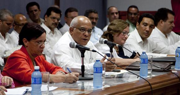 Orlando Hernández Guillén, presidente de la Cámara de Comercio de la República de Cuba. Foto: Ismael Francisco/ Cubadebate.