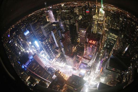 Times Square, en Nueva York. Foto: AP