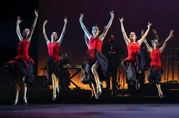 Cuba Vibra!, obra del Ballet Lizt Alfonso. Foto: Andrea Mohin/The New York Times.