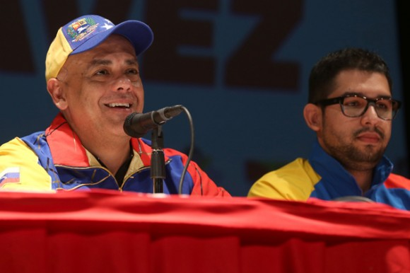 El jefe del comando nacional de Campaña Bolívar-Chávez, Jorge Rodríguez, informó que llegaron a mas 8.000.000 de patrulleros y patrulleras conformadas para las próximas elecciones.