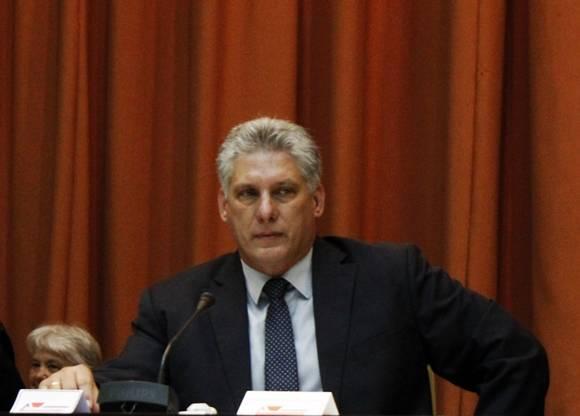 El vicepresidente Miguel Díaz-Canel preisdió la inauguración de la II Conferencia Internacional Jose Marti en el Palacio de las Convenciones, Cuba. Foto: José Raúl Concepción/Cubadebate.